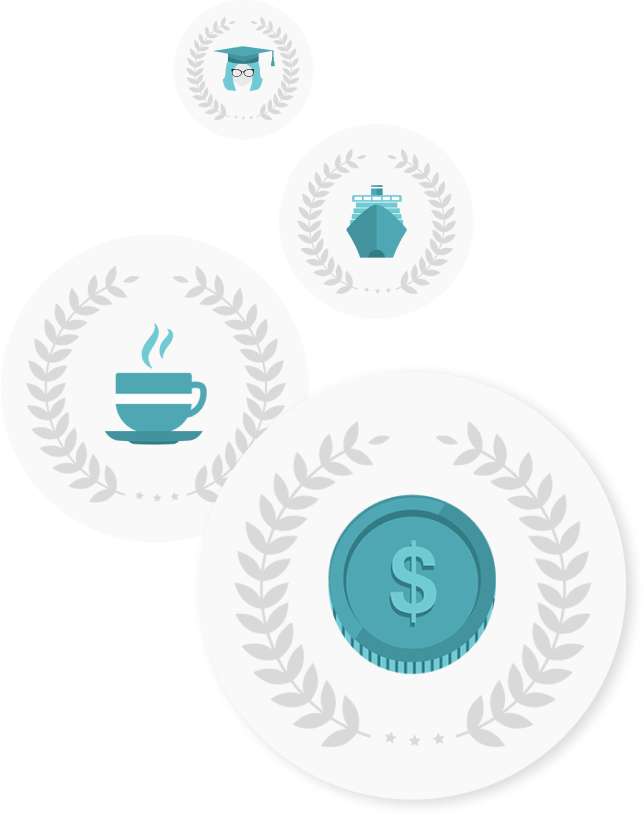 Various icons from the Educators Financial Group website